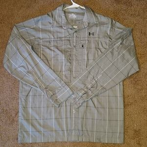 UA Loose Fit Heather Button Down